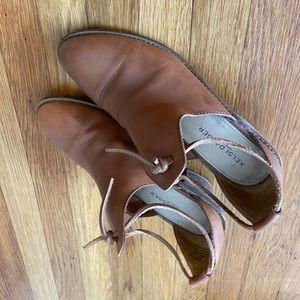Kelsi Dagger leather mule clog